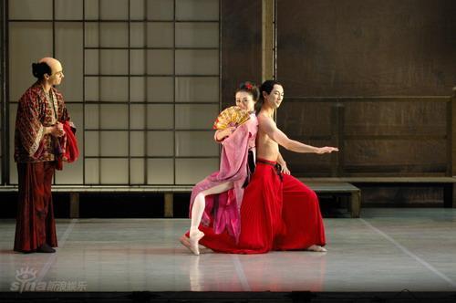 资料图片:NBT芭蕾舞团《蝴蝶夫人》-剧照(4)