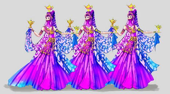 资料:《绝代佳人》服装-波斯神女图片