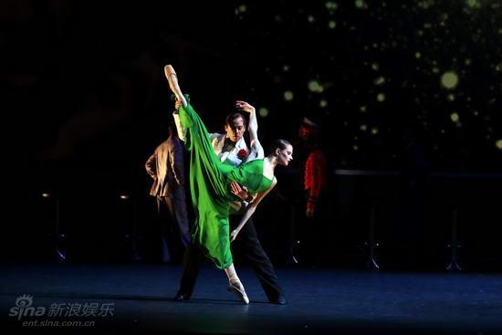 资料图片:苏格兰芭蕾舞团《喜从天降》剧照(3)