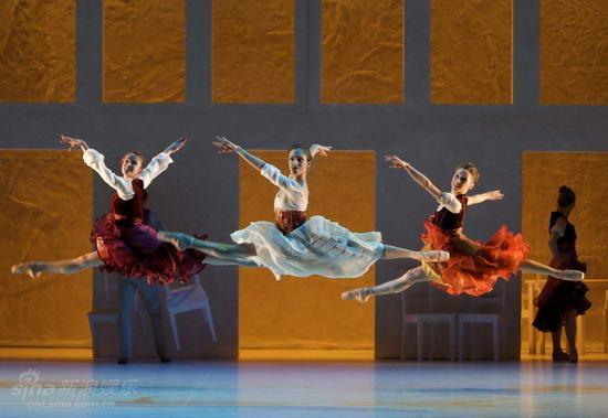 资料图片:苏格兰芭蕾舞团《卡门》剧照(1)