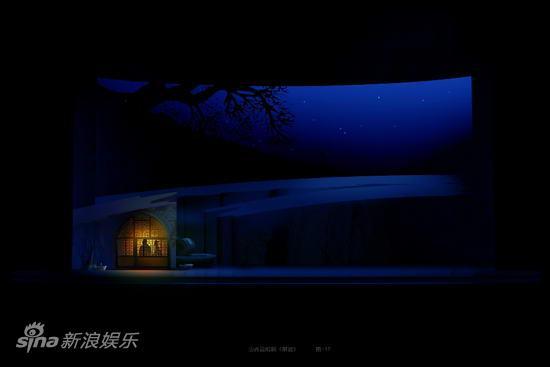 资料图片:大型山西说唱剧《解放》舞美图(6)