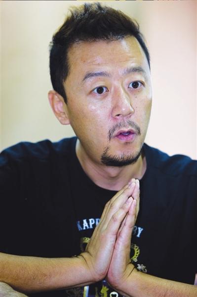 资料图片:国家话剧院男演员--郭涛