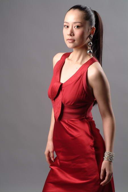 资料图片:国家话剧院女演员--海清
