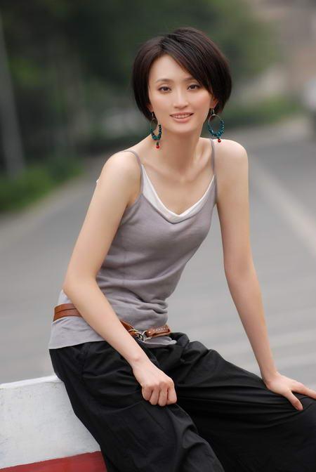 资料图片:国家话剧院女演员--张澍