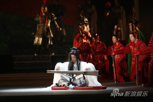 刘晓庆《阿房宫赋》今晚开演成败将揭晓(图)
