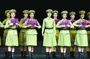 平壤艺术团携《怒放的金达莱》北京上演(图)