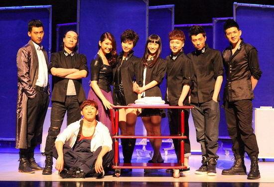 《夜店》9名年轻演员喜庆百场