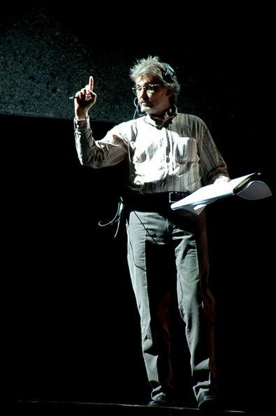 图文:《图兰朵》灯光师弗拉基米尔-卢卡谢维奇