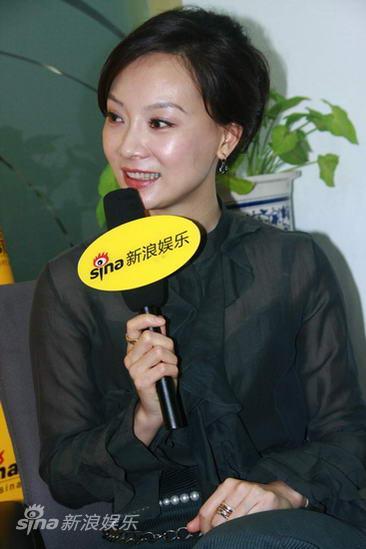 图文:陈数聊《简爱》-陈数感谢导演王晓鹰