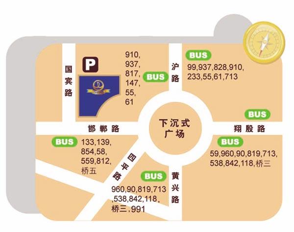 资料:上海万达影城地理位置图