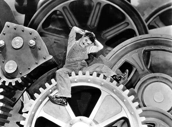 卓别林经典剧目-《摩登时代》(1936)