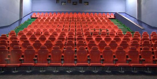 资料图片:北京金逸影城实景图--影城座位