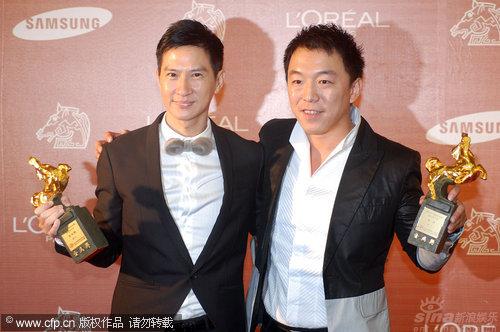详讯:张家辉黄渤同获金马最佳男演员奖