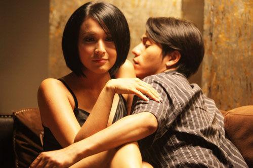 《跟我的前妻谈恋爱》中,陈坤饰演的马勇离婚后觅得新欢