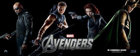 《复仇者联盟》的三位辅助英雄和反派洛基