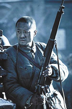 《集结号》首映万人观影PK《投名状》中国古风