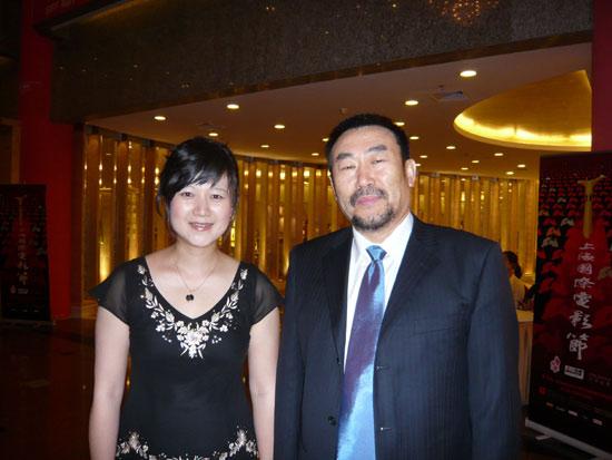 《筑梦2008》揭幕上海电影节展映座无虚席(图)