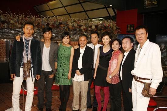 赵薇甄子丹出席《画皮》首都电影院超前点映