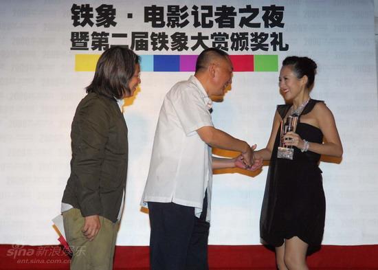 章子怡专访:我喜欢铁象奖的自信心(图)