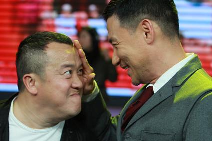 《72家租客》江苏卫视首映礼曾氏父女斗嘴(图)