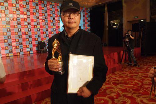 《迷城》上影节斩获两大奖项章家瑞喜开香槟