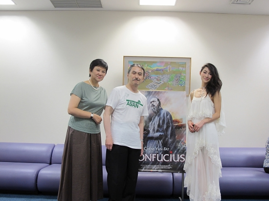陈燃代表《孔子》出征福冈中国新面孔大获好评