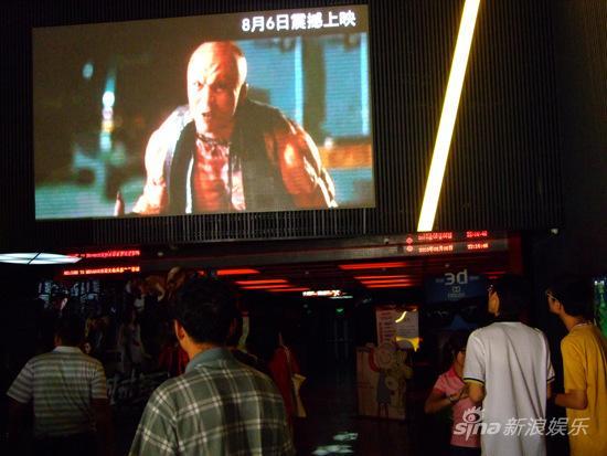 《全城戒备》引观影热潮影院增加排片场次(图)