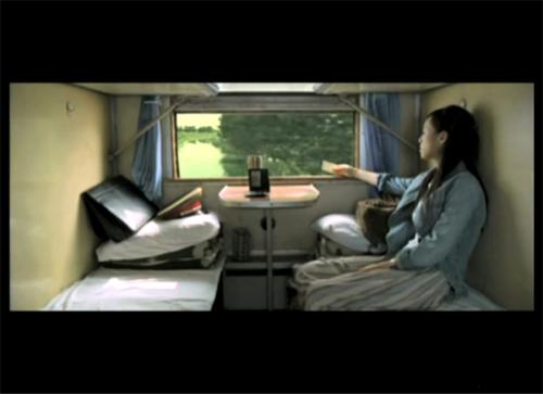 重庆火车窗外风景