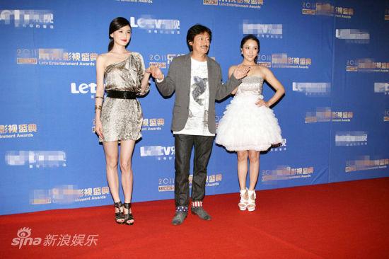 刘冬、陈勋奇、赵芊羽亮相红毯