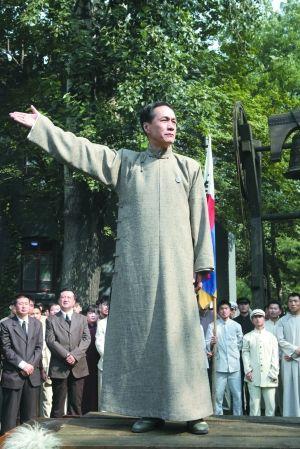 《建党伟业》中冯远征饰演的陈独秀一场激情演讲,被评为该片最高潮。