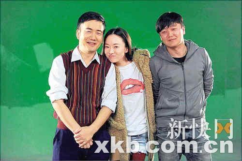 """霍思燕再度出演女一号,与""""筷子兄弟""""上演爱情与父女情。"""