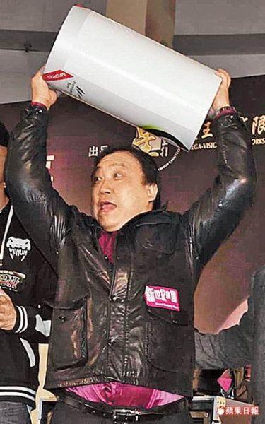 王晶昨天(1月9日)出席《古惑仔:江湖新秩序》记者会。