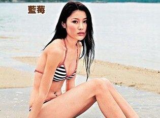 香港女星刘俐 翻摄自网络。来源:台湾今日新闻网