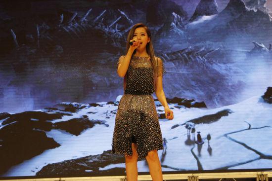 张靓颖献唱《龙之谷》主题曲《破晓以后》