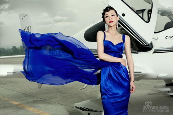 组图:苗圃变中国式007女郎骈古相机美妙己拍