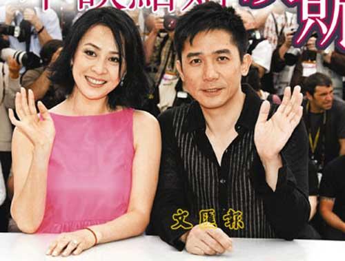 梁朝伟、刘嘉玲戛纳出席电影节不谈结婚谈赈灾