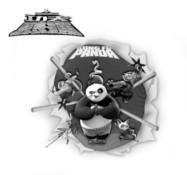 """《功夫熊猫》""""熊猫拳""""打遍北美无敌手(附图)"""