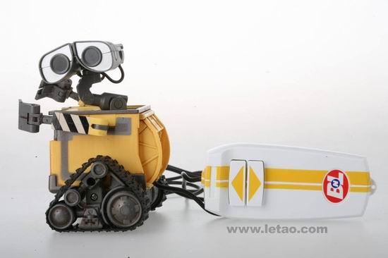 《机器人瓦力》玩具之遥控版瓦力介绍