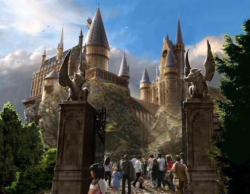 """""""哈利波特魔法世界""""将于今年6月18日正式开园"""