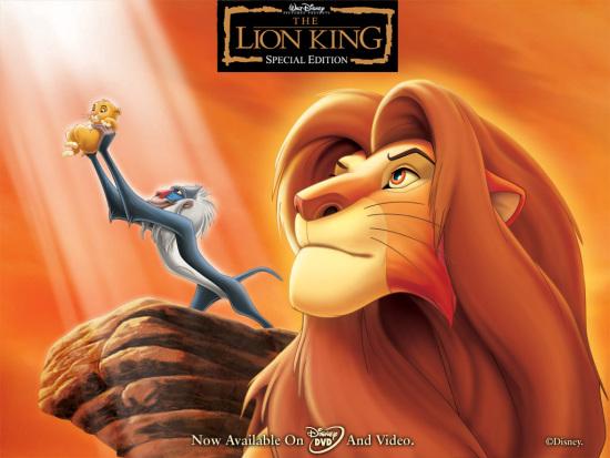 迪斯尼重制经典动画 《狮子王》将转制3d版本