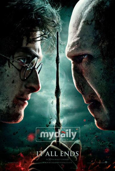 《哈利波特7》海报