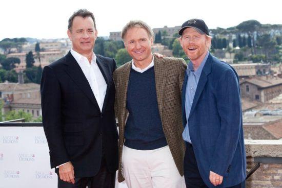 汉克斯(左)和霍华德(右)将第三次合作