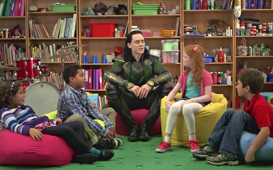 抖森问孩子:雷神洛基谁更强?