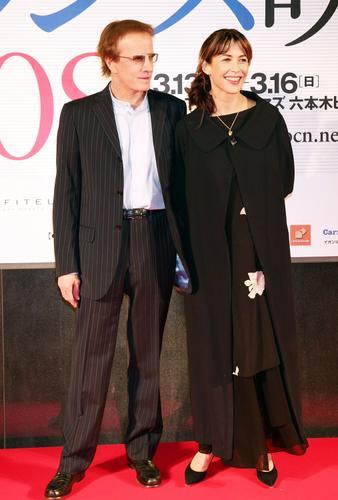 法国电影节东京开幕苏菲玛索得型男作陪(组图)