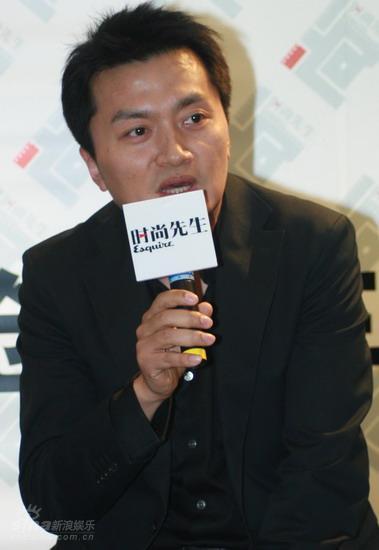 图文:《时尚先生》发布会--电影总策划王峰出席