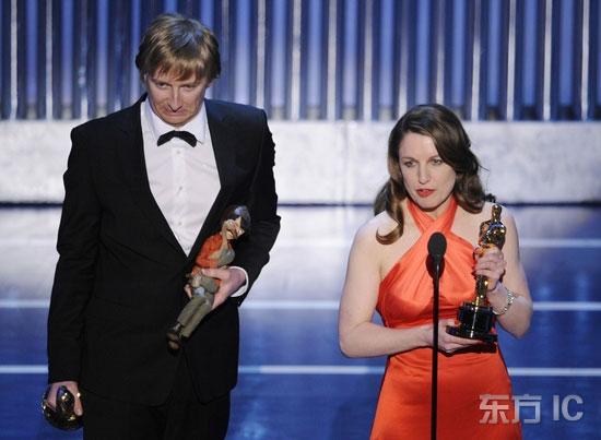 图文:《彼得与狼》获颁最佳动画短片奖