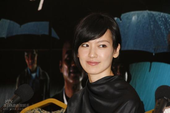 图文:《文雀》上海宣传林熙蕾美人依旧
