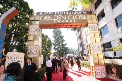 第66届金球奖颁奖典礼在好莱坞希尔顿酒店举