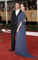 组图:美国演员工会奖红毯皮特搂安吉丽娜抢镜