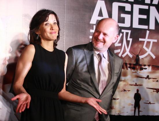 图文:《超级女特工》见面会--苏菲-玛索与导演现身
